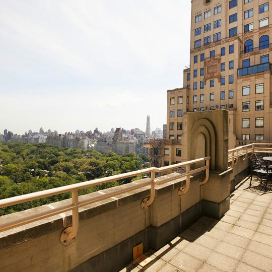 Apartments for sale at 106 Central Park South in Manhattan - Private Terrace