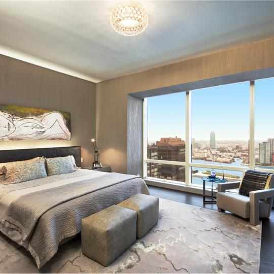 The Trump World Tower New Construction Building Bedroom - NYC Condos