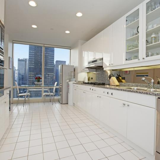 The Trump World Tower Kitchen - Manhattan Condos for Sale