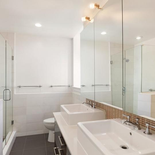 Apartments for sale at 125 West 22nd Street in Chelsea - Bathroom