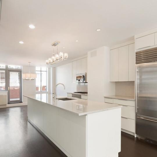 Open Kitchen at Verde Chelsea in NYC - Apartments for sale