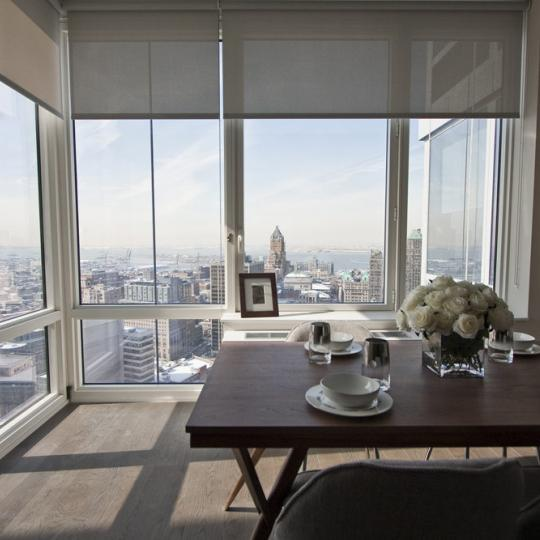 Dining Room- 388 Bridge Street- apartment for sale in NYC