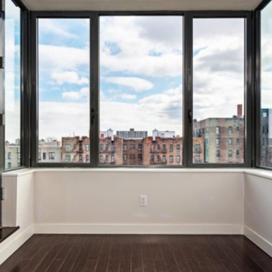 View from inside of apartment - 753 Saint Nicholas Avenue