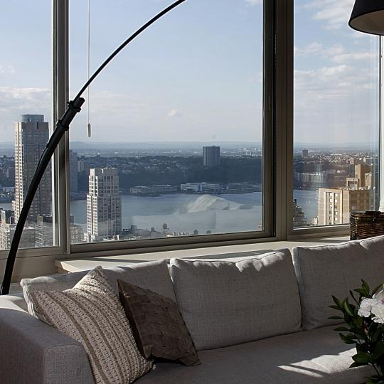 View from inside of apartment - Millennium Tower- NYC apartments for Sale