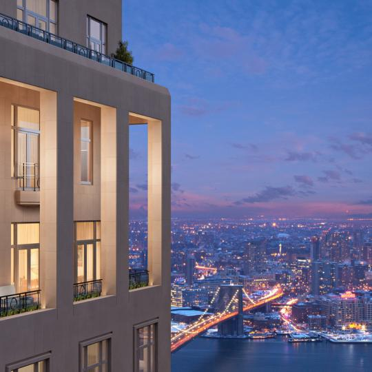 Four Seasons Hotel - Manhattan Condos - View of the city