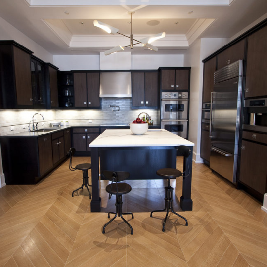 Walker Tower Kitchen - Chelsea Apartments at 212 West 18th Street