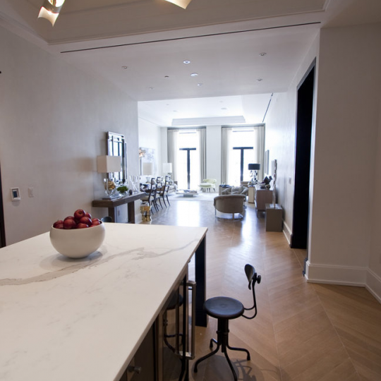 Walker Tower Kitchen - Luxury Apartments for Sale in Chelsea
