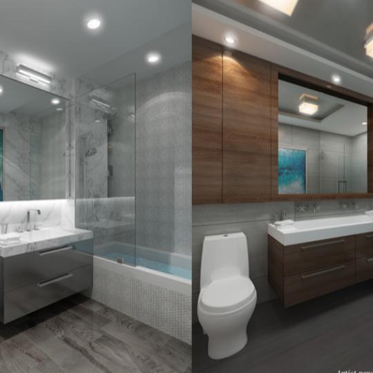 The bathroom at 47 Bridge Street