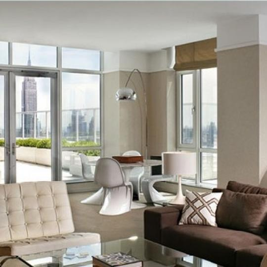 The Atelier Living Room-New Condominiums for Sale, Clinton