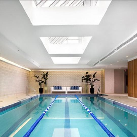 The Atelier Pool - Manhattan Condominiums for Sale