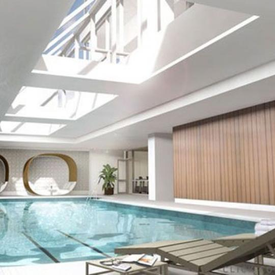 The Atelier Pool - Manhattan Condominiums for Sale, Clinton, NYC