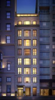 22 Central Park South building- condos for sale
