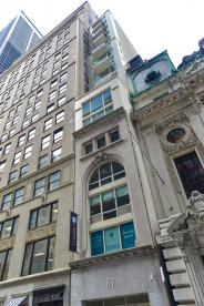 Exterior-67 Liberty Street-NYC Condo for sale