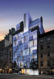 Modern 23 NYC Condos - 350 West 23rd Street Apartments for Sale in Chelsea