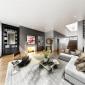 111 Mercer Penthouse Livingroom - Apartments for Sale in New York