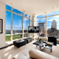Living Room - 230 West 56th Street - NYC - Luxury Condominiums
