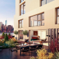 Pierhouse 90 Furman Street Brooklyn Bridge Park NYC Luxury Apartments Terrace