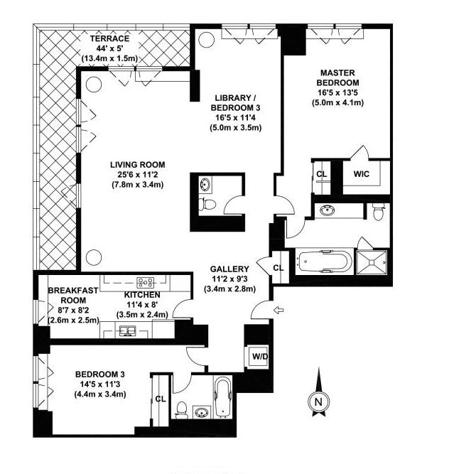 3 Bedroom Apartments In Nyc