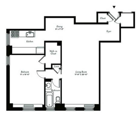 Devonshire house 28 east 10th street greenwich village for Devonshire floor plan