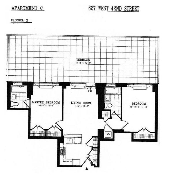 635 West 42nd Street Rentals: Hell's Kitchen Condos