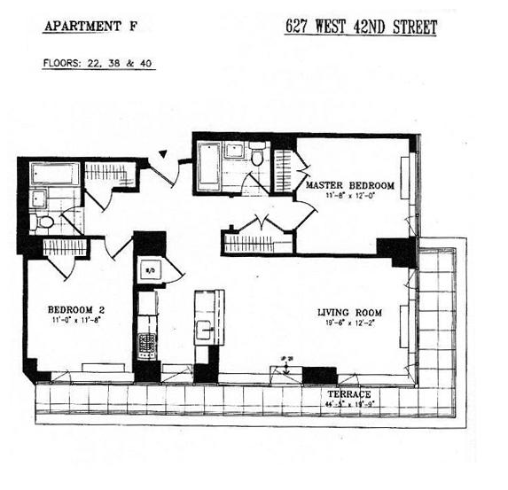 2 Bedroom Apartments In Nyc: Hell's Kitchen Condos