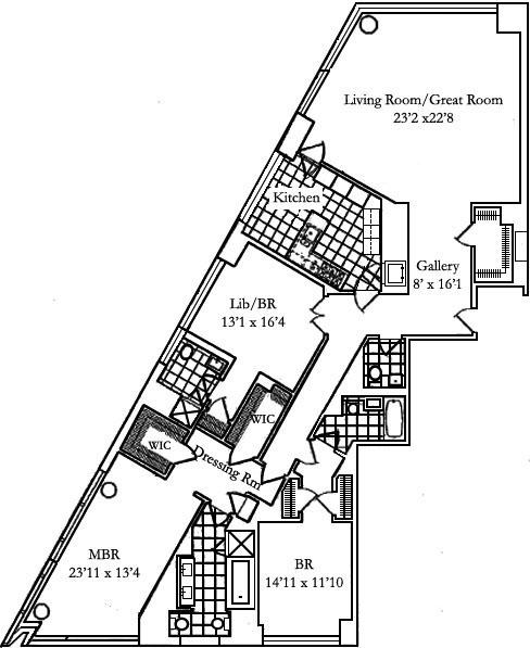 Time Warner Center 25 Columbus Circle Lincoln Square Condos