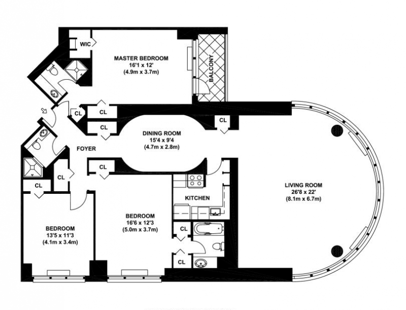 The corinthian 330 east 38th street murray hill condos for Floor plans manhattan apartment buildings