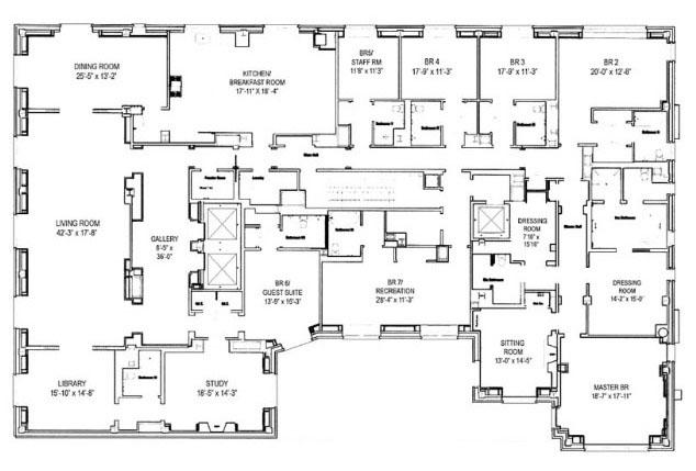 5 Bedroom Apartments. Starting At $13,500,000. Floorplans A B C D