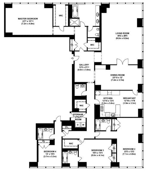 4 Bedroom Apartments Nyc: 151 East 58th Street