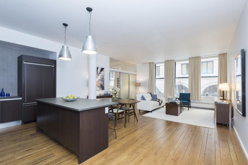 Condos for sale at 21 Astor Place in NYC - Living Room