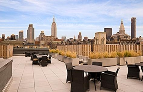 100 West 18th Street Rooftop Terrace - Chelsea NYC Condominiums