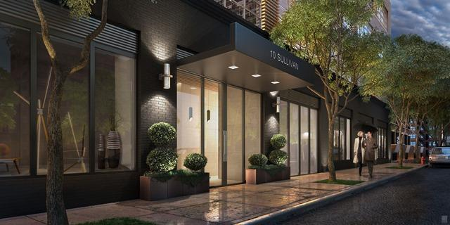 10 Sullivan Street - Entrance - Manhattan Condo for Sale