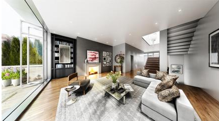 111 Mercer Penthouse Livingroom - Apartments for Sale in New York