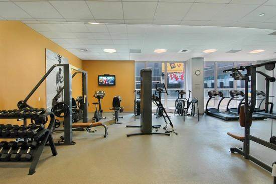 1600 BROADWAY Times Square- NYC Condos For Sale Fitness