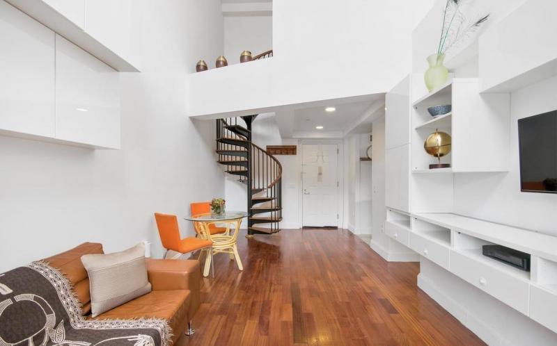 Condos for sale at Rosa Parks Condominium in Harlem - Living Room