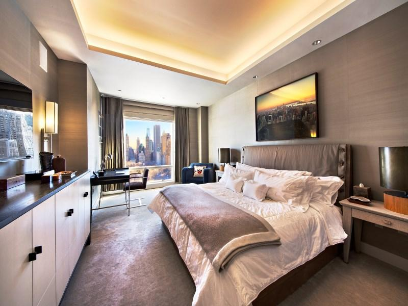 Trump International - High Rise Building- Apartments for sale- bedroom