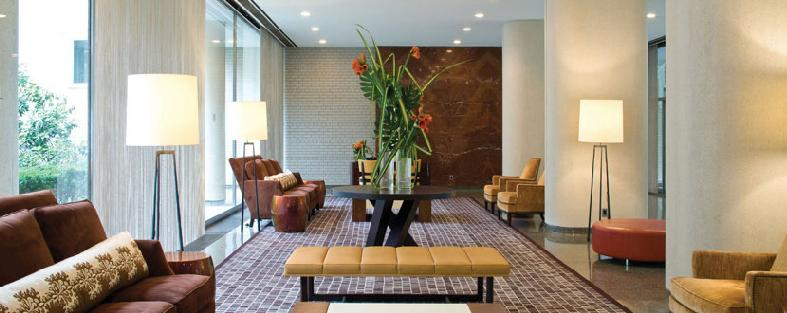 Manhattan House Lobby - Upper East Side NYC Condominiums