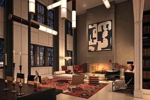 224 Mulberry Street Condominiums – Living Room