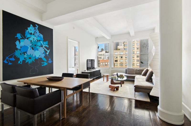 The Living Room at 260 Park Ave South