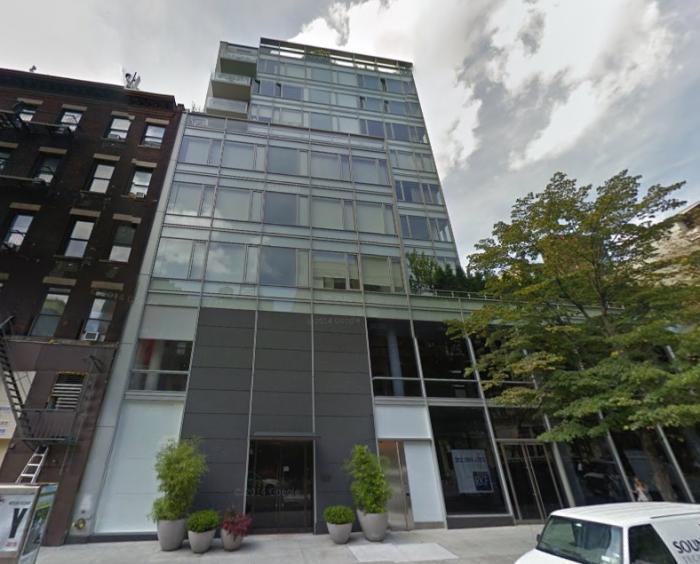 350 West Broadway entrance - New Construction Manhattan