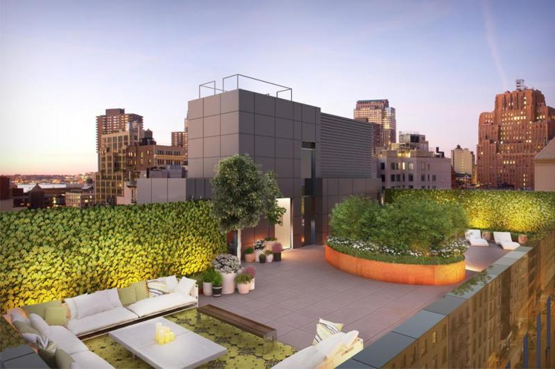 Rooftop View of Warren Lofts - NYC Apartments for Sale