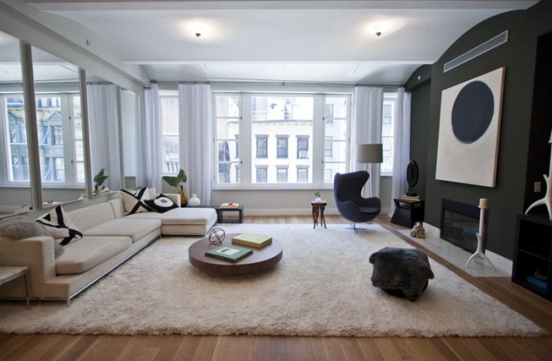42 Ann Street - Living Room