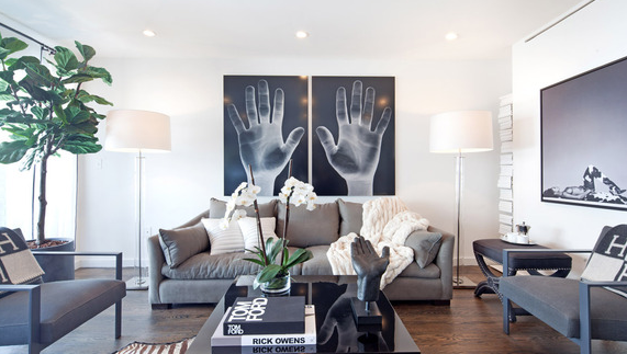 Living Room - 48 Box Street Condominiums for Sale