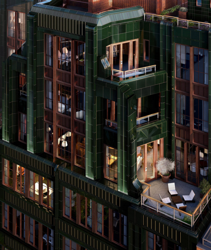 Apartments for sale at The Fitzroy in NYC