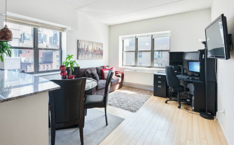 516 West 47th Street - Condos for sale - Living Room