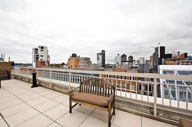 Balcony- 520 West 23rd Street- condo for sale in NYC