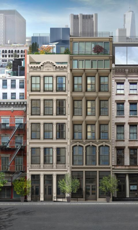 52 54 Lispenard street building- Condos for sale in nyc