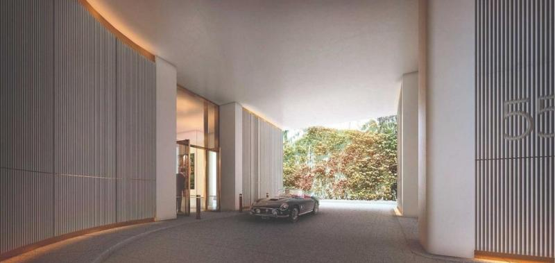 Courtyard at 551 West 21st Street in Manhattan - Condos for sale