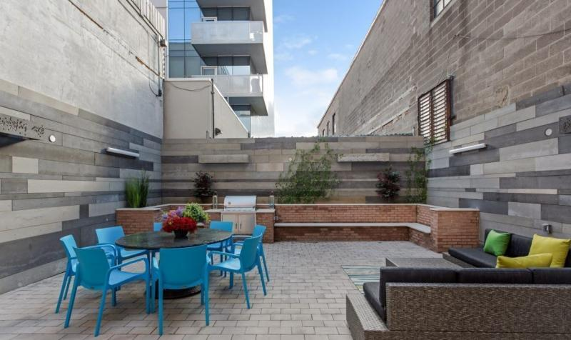 Terrace at 5-12 Lofts in NYC - Apartments for sale