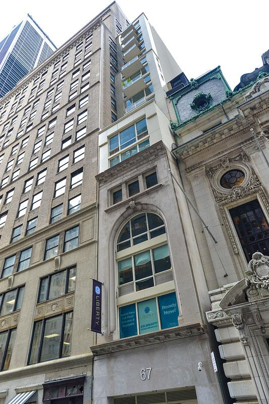 Exterior-67 Liberty Street-NYC Condo for sale